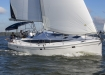 Hunter 40 sailing in Annapolis, MD.