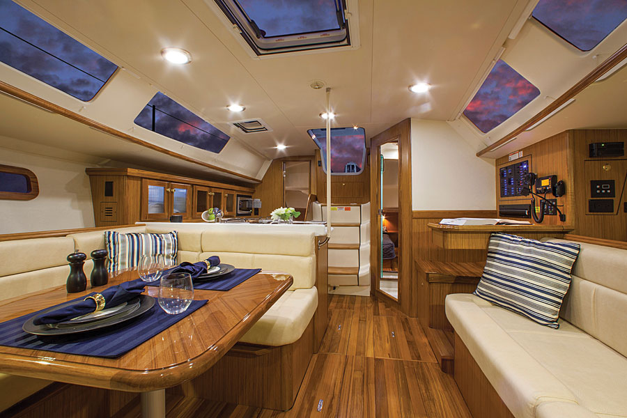 Sailboat Cabin Interior Design