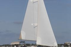 "Hunter 40 ""Reboot"" sailing in Miami, FL."