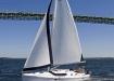 Hunter 45 sailing in Newport