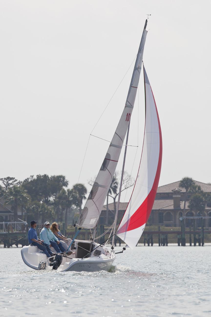 Hunter 22 in St. Augustine FL.
