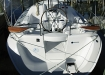 Deck details onboard the Hunter 27 in Deltaville, Va.