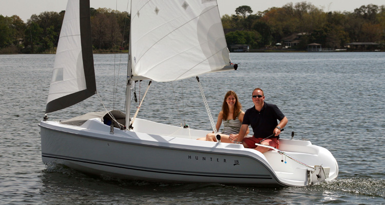 Marlow Hunter 18 Sailboat