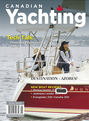 MH31 Magazine Review Canadian Yachting May 2016
