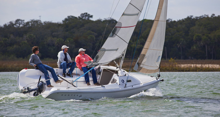 Marlow Hunter 22 Sailboat