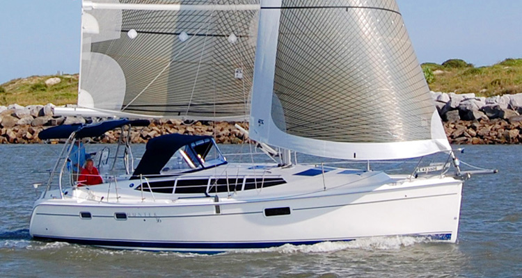 Marlow Hunter 36 Sailboat