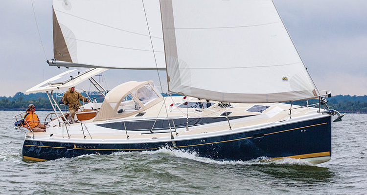 Marlow Hunter 40 Sailboat