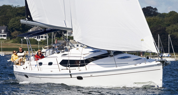 Marlow Hunter 45 Sailboat