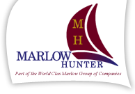 Marlow Hunter site logo